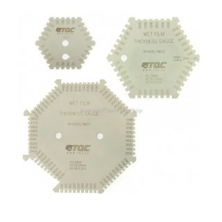 Гексагональная гребенка для определения толщины мокрого слоя TQC SP4000 / 4010 / 4020
