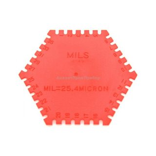 Гексагональная гребенка для определения толщины мокрого слоя TQC LD2020