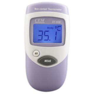 Бесконтактный инфракрасный термометр CEM DT-608