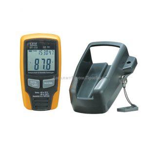 Регистратор температуры и влажности (даталоггер) CEM DT-172