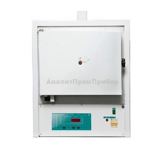 ЭКПС-10 муфельная печь (одноступ. регулятор; 10 л; Т до +1100 °С) с вытяжкой