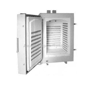 ЭКПС-300 муфельная печь (300 л; Т до +1100 °С) с вытяжкой