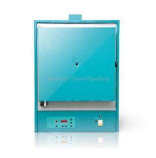ЭКПС-50 муфельная печь (многоступ. регулятор; 50 л; Т до +1100 °С) с вытяжкой, выход на ЭВМ