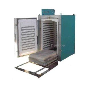 ЭКПС-500 муфельная печь (500 л; Т до +1100 °С) с вытяжкой