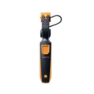 Testo 115i смарт-зонд — термометр для труб (зажим) с Bluetooth, управляемый со смартфона/планшета