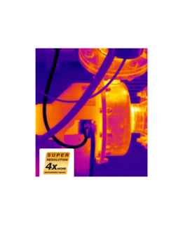 SuperResolution Testo технология  (дооснащение для тепловизоров Testo)