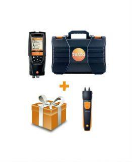 Testo 320 с H2-компенсацией газоанализатор + testo 510i смарт-зонд (комплект)