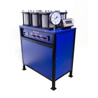 УВБ-МГ4 установка для испытания образцов бетона на водонепроницаемость