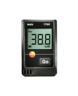 Testo 174H мини-логгер данных температуры и влажности (комплект)