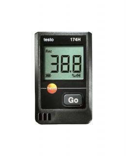Testo 174H мини-логгер данных температуры и влажности
