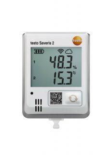 Testo Saveris 2-H1 WiFi-логгер данных с дисплеем и встроенным сенсором температуры/влажности