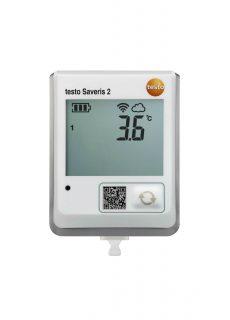Testo Saveris 2-T1 — WiFi-логгер данных с дисплеем и встроенным сенсором температуры