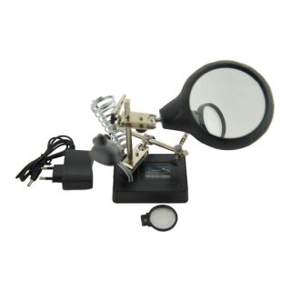 МЕГЕОН 02805 устройство вспомогательное для пайки различных компонентов (Третья рука)
