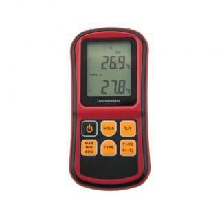 МЕГЕОН 16312 термометр контактный двухканальный цифровой