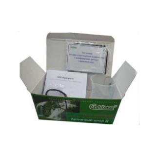 «Активный хлор в дезинфицирующих растворах и промывных водах («Активный хлор Д»)» тест-система