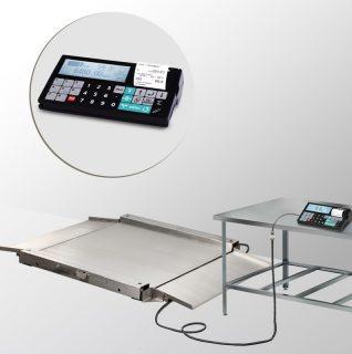 4D-LA.S-4-1000-RC весы низкопрофильные с печатью чеков
