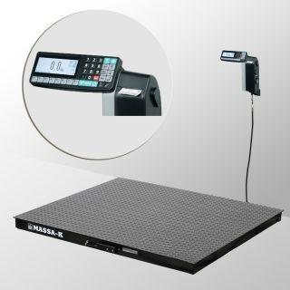 4D-P-2-1500-RL весы платформенные с печатью этикеток