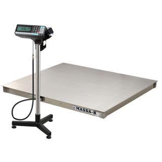 4D-P.S-2-1000-RP весы платформенные с печатью этикеток