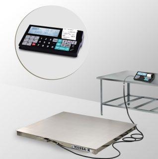 4D-P.S-2-1500-RC весы платформенные с печатью чеков
