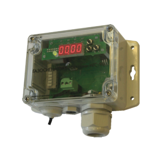 Хмель-СВ серии ИГС-98 газосигнализатор стационарный на хлор Cl2 исполнение 011