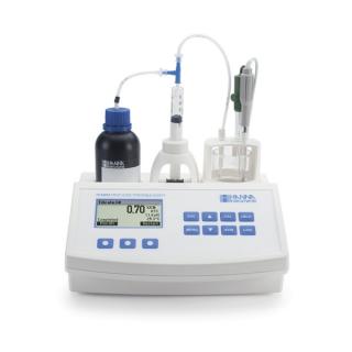 HI84532 мини титратор для измерения титруемой кислотности и рН в фруктовых соках