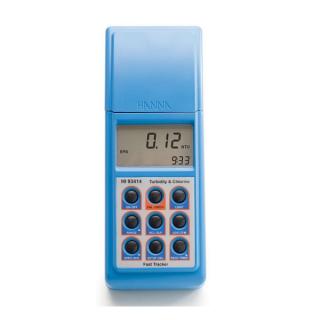 HI93414 измеритель мутности портативный свободного/общего хлора