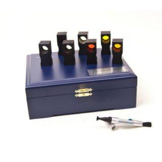 НМП-01 и НМП-02 наборы прозрачных мер координат цвета и цветности