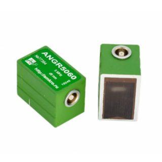 ANGR50xx преобразователи малогабаритные наклонные УЗ ПЭП 5МГц (П121-5-хх-АМ-004)