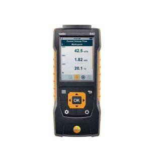 testo 440 прибор для измерения скорости и оценки качества воздуха в помещении