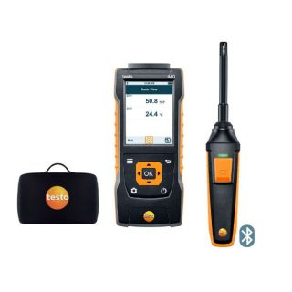 testo 440 комплект влажности с Bluetooth (0563 4404 d)