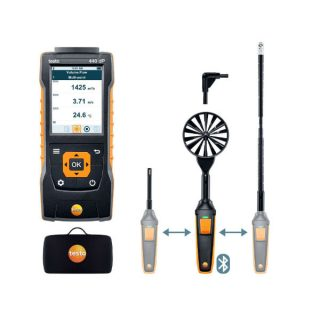 testo 440 delta P комплект 2 для вентиляции с Bluetooth