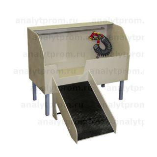 Ванна для животных №1 из полипропилена (без дверцы)