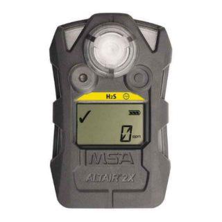 ALTAIR 2X H2S-Pulse газоанализатор, пороги тревог: 10 ppm и 15 ppm