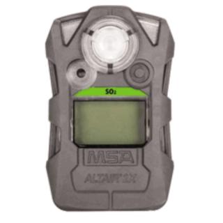 ALTAIR 2X SO₂ газоанализатор, пороги тревог: 2 ppm и 5 ppm
