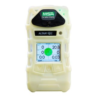 ALTAIR 5X, PEN-O2-CO-H2S-CH4 (0-100%) газоанализатор, фосф. корпус, черный кейс, цв. дисплей