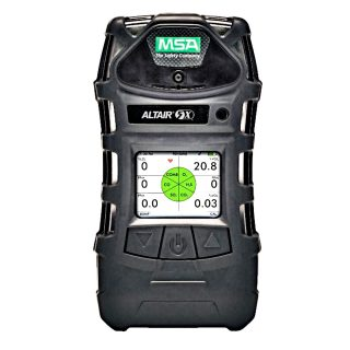 ALTAIR 5X, PEN-O2-CO-H2S-CO2 (0-10%) газоанализатор, цв. дисплей, W-USB