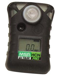 ALTAIR PRO HCN газоанализатор, пороги тревог: 1 ppm и 2 ppm