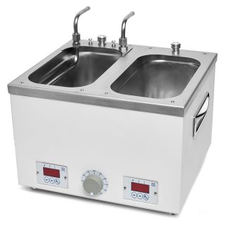 ЛБ-57164 баня лабораторная с 2-мя рабочими ваннами