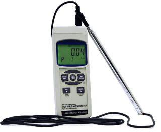 Анемометр-регистратор с опцией Bluetooth интерфейса АТЕ-1034BT