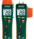 Комбинированный штифтовой/ бесконтактный измеритель влажности Extech MO260