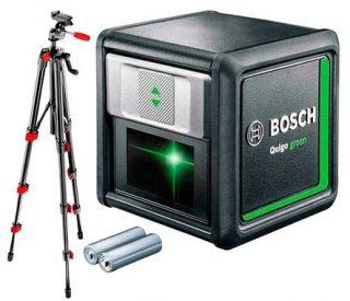 Лазерный нивелир Bosch Quigo green со штативом