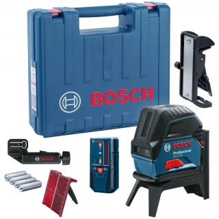Лазерный уровень BOSCH GCL 2-50 + RM1 + BM3 + LR6 + кейс
