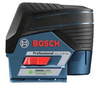 Лазерный уровень Bosch GCL 2-50 CG+RM2+BM 3 clip L-Boxx+GEDORE set
