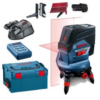 Лазерный уровень Bosch GCL 2-50 C+RM3+BM 3 clip RC 2 L-Boxx+GEDORE set