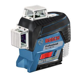 Лазерный уровень Bosch GLL 3-80 CG+BM 1+GSR12V