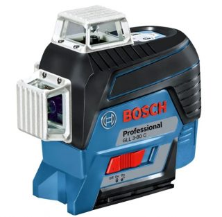 Лазерный уровень GLL 3-80 C + BM 1 + GBA 12V + L-Boxx