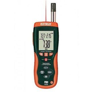 Психрометр + инфракрасный термометр с GPP (г/кг) Extech HD550