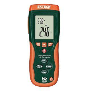 Термоанемометр + ИК термометр Extech HD300