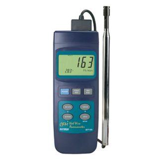 Термоанемометр CFM с тепловой системой для работы в тяжелых условиях Extech 407119