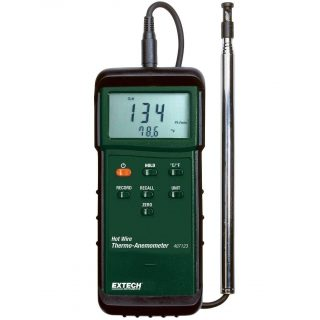 Термоанемометр с тепловой системой для работы в тяжелых условиях Extech 407123